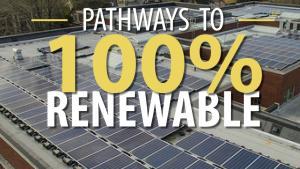 Pathways to 100% Renewable