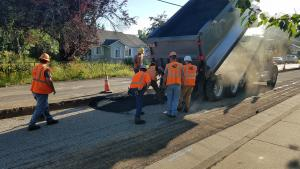 Paving is planned on Arata Road on Sept. 28, 2019