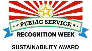 Public Recognition Week - Sustainability Award Winner