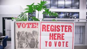 Today is National Voter Registration Day! Help us celebrate by registering to vote TODAY.  Register in September to #VOTE in November.