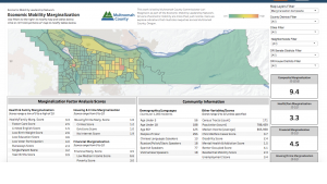 Economic Mobilization Mapping Tool