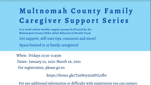 MC Family Caregiver Support Series