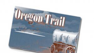 Oregon trail card
