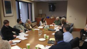 Central CBAC meets with Chair Madrigal