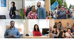 Collage of County Employees