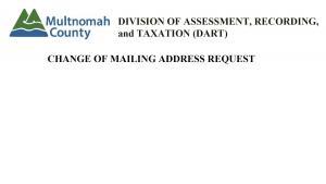Mailing Address Change Image