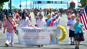 The team at Bienestar de la Familia