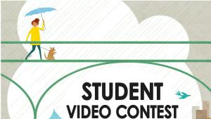Poster for River Starts Here student video contest