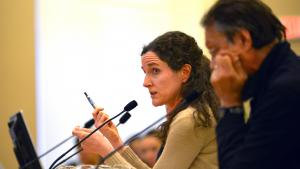 Health Officer Dr. Jennifer Vines testifies on the health effects of nicotine and vapping on young people