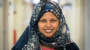 Somali-speaking caseworker Khadija Fai has a heavy lift. And it's her life's dream.