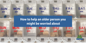 How to help an older person
