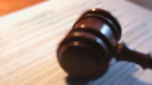 photo of Judge's gavel