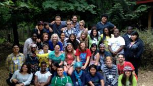 Group photo of Multnomah Youth Commission members