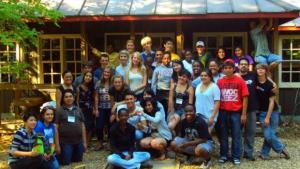 Youth Commission on their retreat