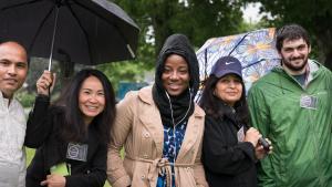 Community leaders gathered Sunday to celebrate New Portlanders