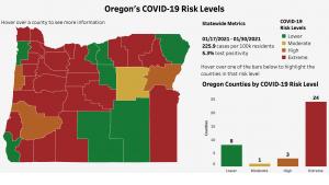 oha covid risk levels state map