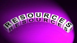 resources spelled out
