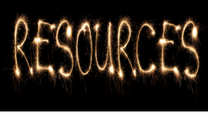 photo of sparklers spelling resources