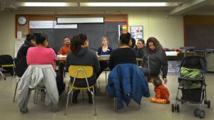Through the OYE class series parents learn to talk to their children about sexual health