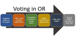 the six steps of vote-by-mail