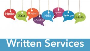 Language Services: Translation