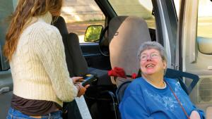Transportation options for aging and disabled.