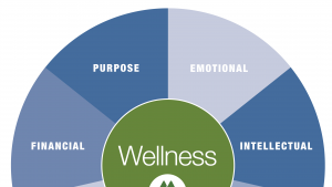 7 Dimensions of Wellness: Purpose, Emotional, Intellectual, Physical, Social, Environmental, and Financial