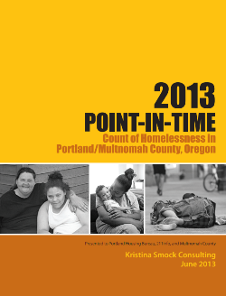2013 Point-in-Time report