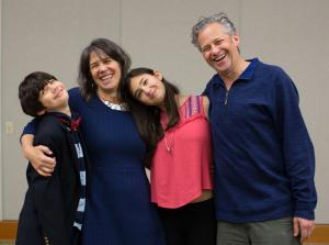 Commissioner Sharon Meieran and her family