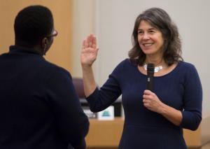Commissioner Sharon Meieran represents District 1.