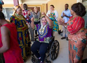 The Congolese Women's Group, launched this summer through Mid County Health Center, met regularly for three months to talk about adjusting to life in the United States.
