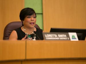 Commissioner Loretta Smith urged the board to try to open Wapato as a temporary homeless shelter.