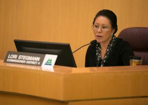 Commissioner Lori Stegmann sponsored a resolution to invest Wapato proceeds into affordable supportive housing.