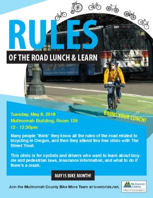 2018 Bike Month - Rules of the Road Flyer Final