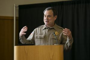 Clackamas County Sheriff Craig Roberts opened the state's first jail-based treatment program