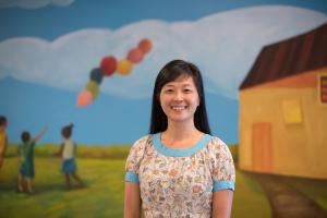 Nancy Jason, winner of the 2018 HILLTOP Award for Agency Staff/Volunteer Achievement
