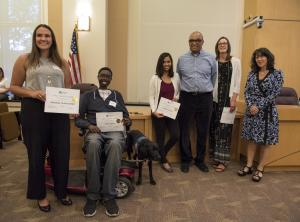 volunteers with the Department of Community Justice honored at 2018 ceremony