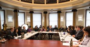 At the joint County/City work session on supportive housing, Sept. 11, 2018.