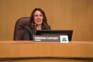 Chair Deborah Kafoury during the Sept. 13 board meeting.