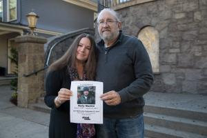 Deborah  and Don Letourneau made firends with a Street Roots Vendor Rudy Madrid, who died while homeless in 2017.