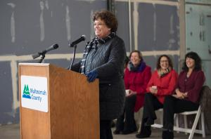 Multnomah County Circuit Judge Nan Waller, an early champion of the project described the new courthouse as a lasting symbol of our community's belief in the rule of law.