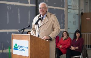 """Hoffman's Chairman and Chief Executive Officer Wayne Drinkward described the project as a symbol, """"one that will help us move forward as a community""""."""