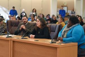 Multnomah County leaders testify