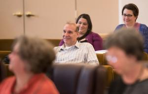 Bobby Weinstock of Northwest Pilot Project, center, championed the County-funded long-term rent assistance pilot project.