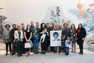 The family of Gladys McCoy came out join community in an honor to her legacy