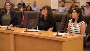 Chloe Eudaly testifies