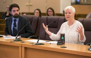 """""""It's virtually impossible to have a healthy community and unhealthy air.,"""" says Multnomah County Environmental Health Services Director Jae Douglas, Ph.D."""