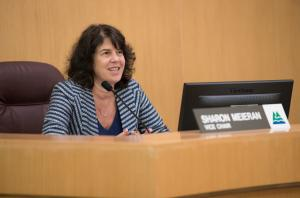 Commissioner Sharon Meieran.