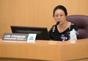 Commissioner Lori Stegmann.