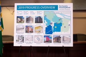 Projects for Portland's 2016 housing bond announced Sept. 17, 2019. by the Portland Housing Bureau.